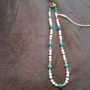 Jewelry - Handmade gemstone necklace
